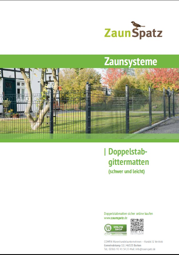 Katalog-Zaunsysteme