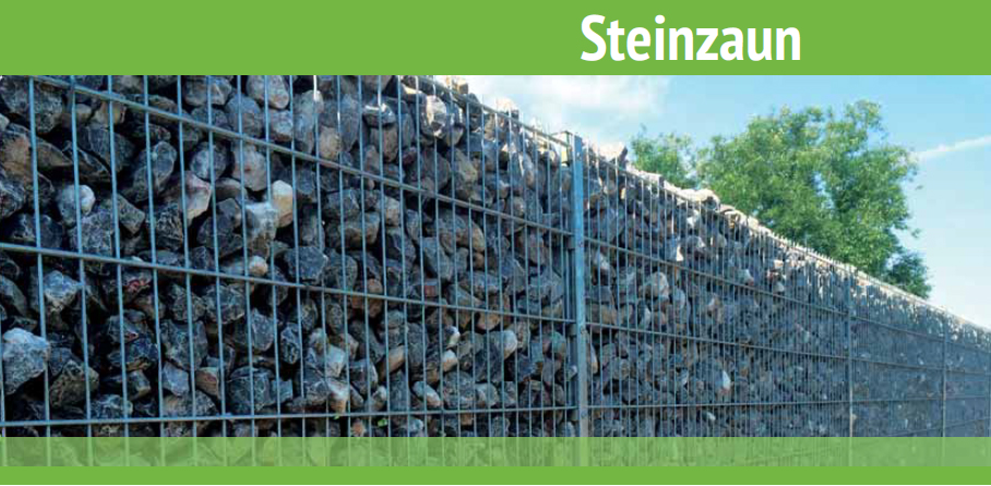 Zäune aus Stein / Gabionenzäune